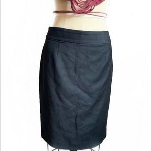 Black J.CREW Skirt